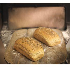 Pan de mode de trigo y espelta ecológicas
