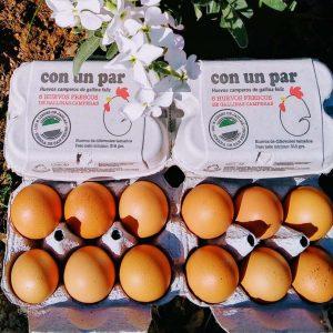 Huevos Camperos Con Un Par