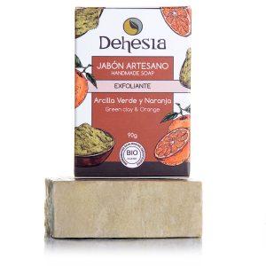 jabón eco exfoliante de arcilla Dehesia