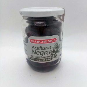 Aceituna Negra Bio Al Natural Arbequina