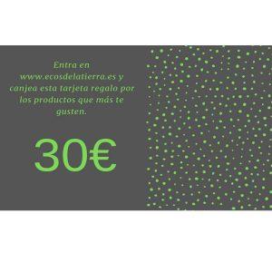 Tarjeta Regalo 30€ Ecos