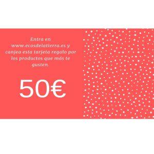 Tarjeta Regalo 50€ Ecos