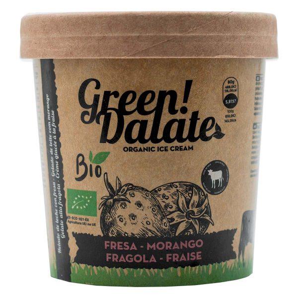Compra Helado de Fresa ecológico Green Dalate